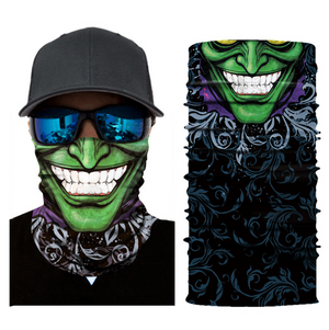 Face and Neck Mask/Bandana (Multiple Male & Female Designs)