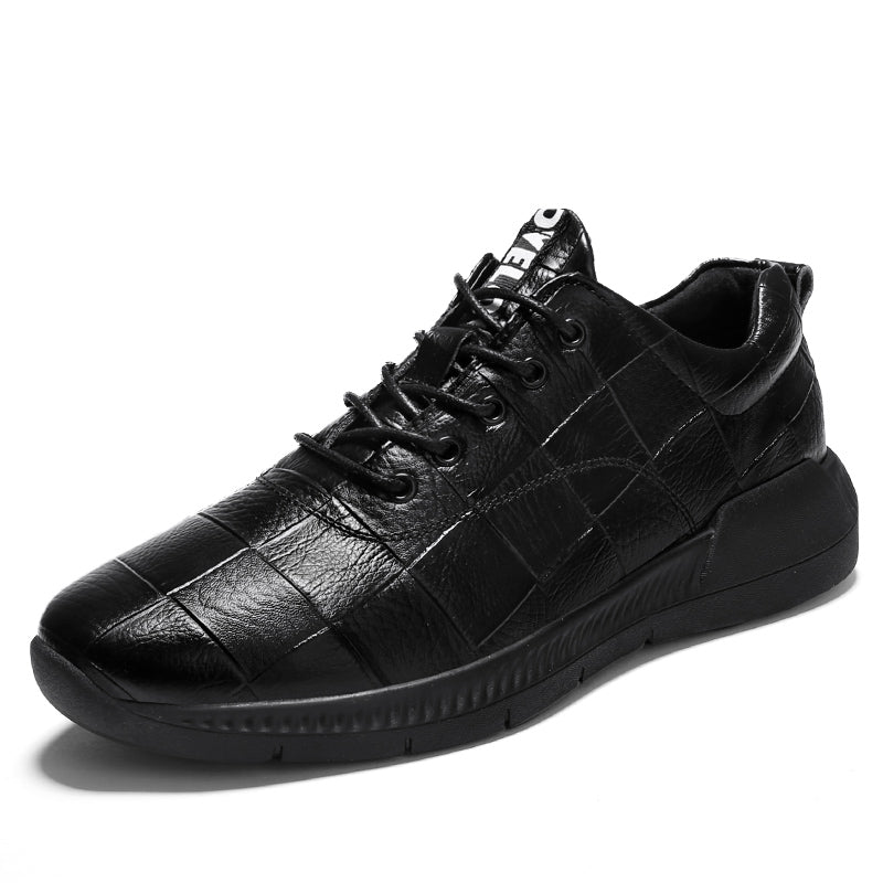 Circuit Rave Gear™ Leather Circuit Sneakers