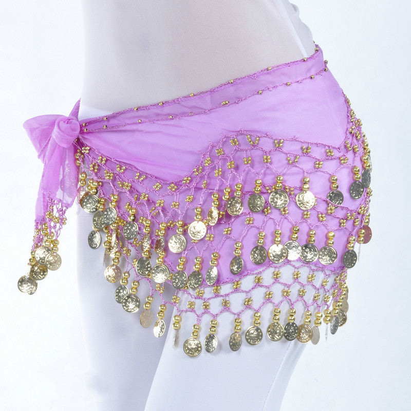 Belly Dancer Sequined Coin Belt (Multiple Colors)
