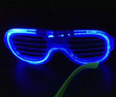 Sound-Activated LED Glowing Glasses