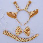 Animal Ear Headband with Tail and Bowtie (Multiple Animals)