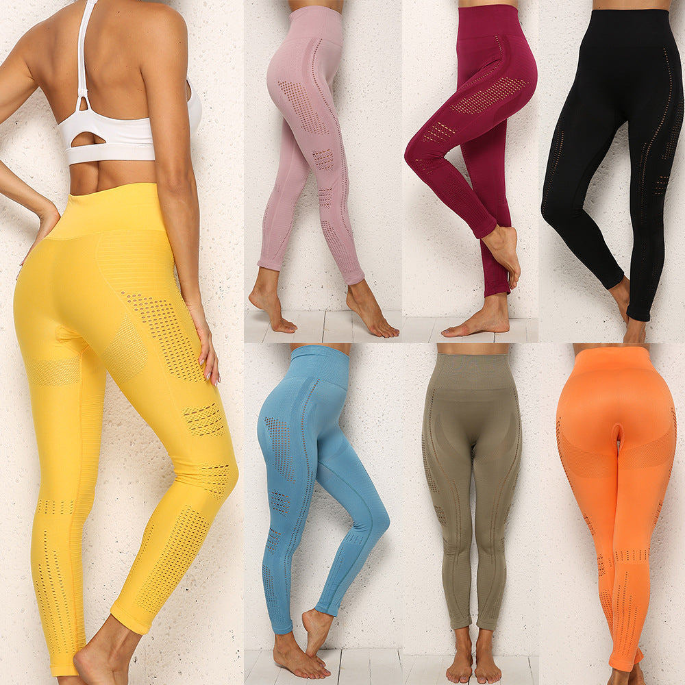 High Waist Quick Dry Leggings (Multiple Colors)