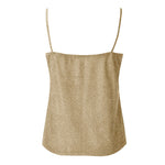 Metallic V Neck Tank Top (Multiple Colors)