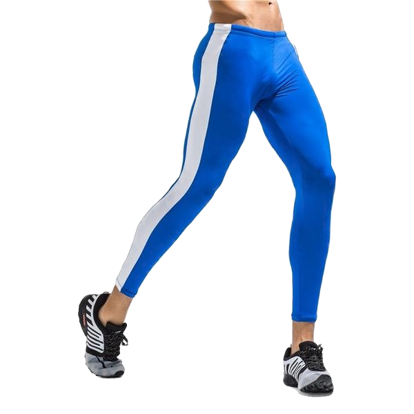 Racer Striped Compression Tights (Multiple Colors)