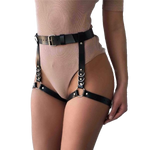 Leather Garter Belt Harness