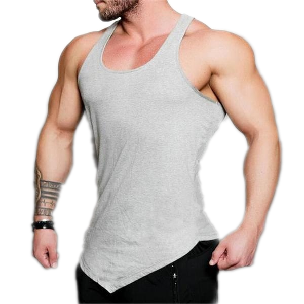 Asymmetric Gym Tank Top