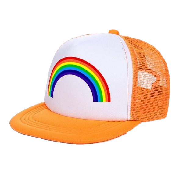 Circuit Rave Gear™ Rainbow Trucker Hat (Multiple Colors)