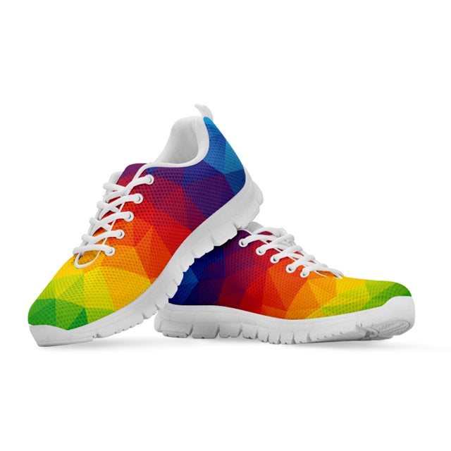 Rainbow Prism Casual Sneakers