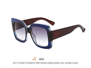 Oversized Colorful Sunglasses (Multiple Colors)