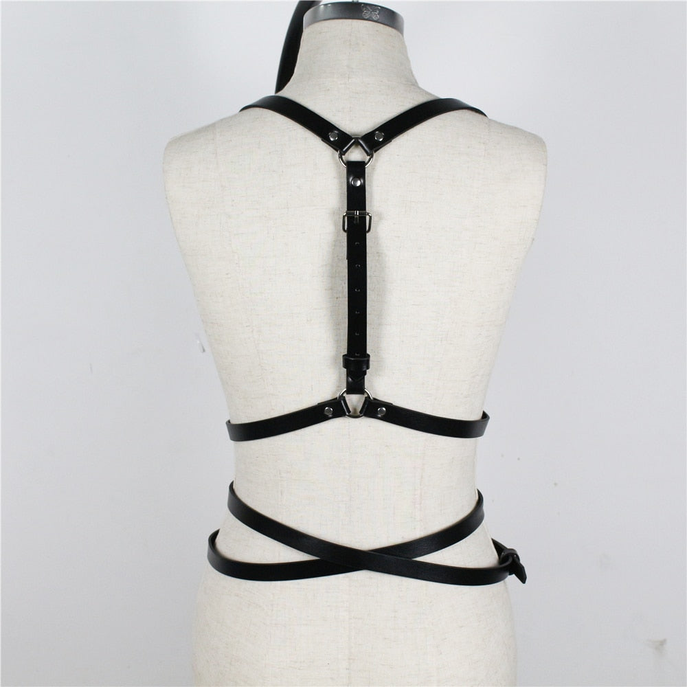 Criss-Cross Adjustable Belt Harness