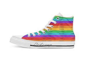 Equality Canvas Sneakers