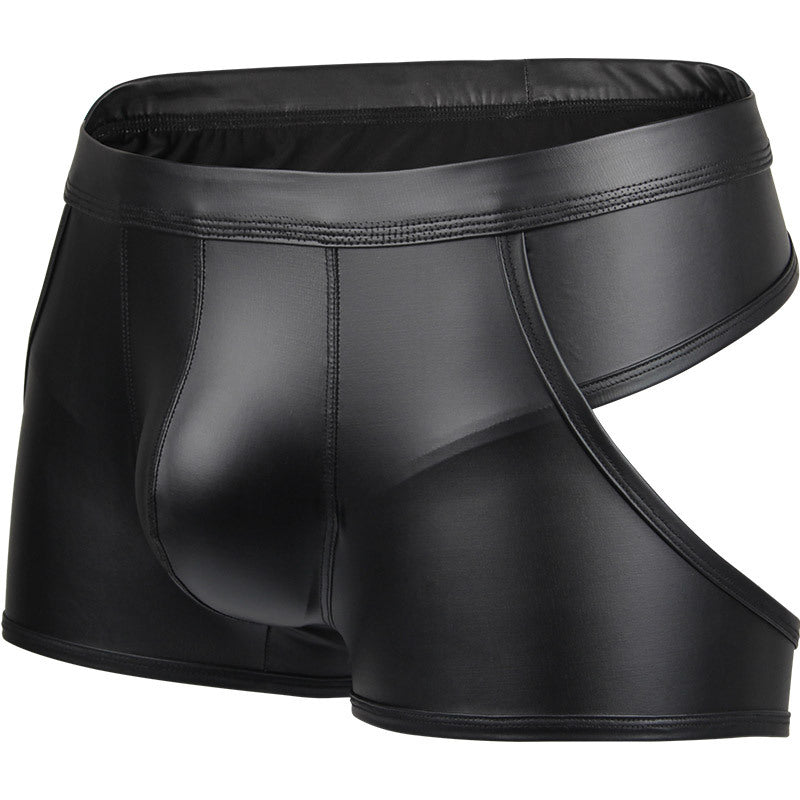 Assets Faux Leather Boxer (Multiple Colors)