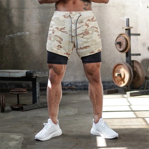 2-in-1 Quick Dry RC-2 Shorts (Multiple Colors)