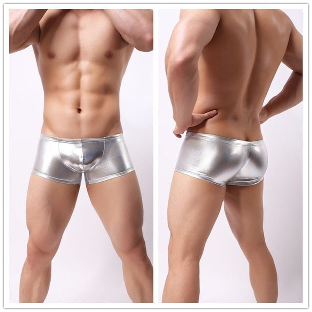 Faux Leather Boxers (Multiple Colors)