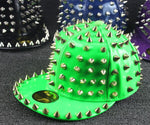 Spiked Snapback (Multiple Colors)