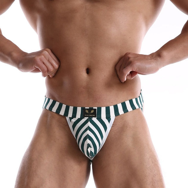 Candy Stripe Jockstrap (Multiple Colors)