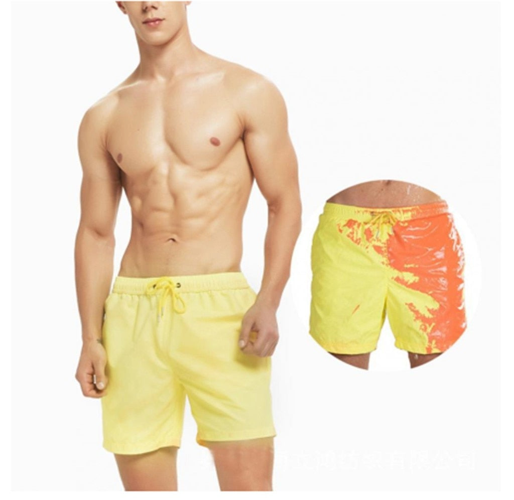 Magical Color Change Beach Shorts (Multiple Colors)