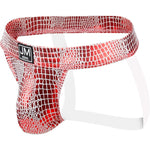 Faux Leather Snake Skin Jock Strap (Multiple Colors)
