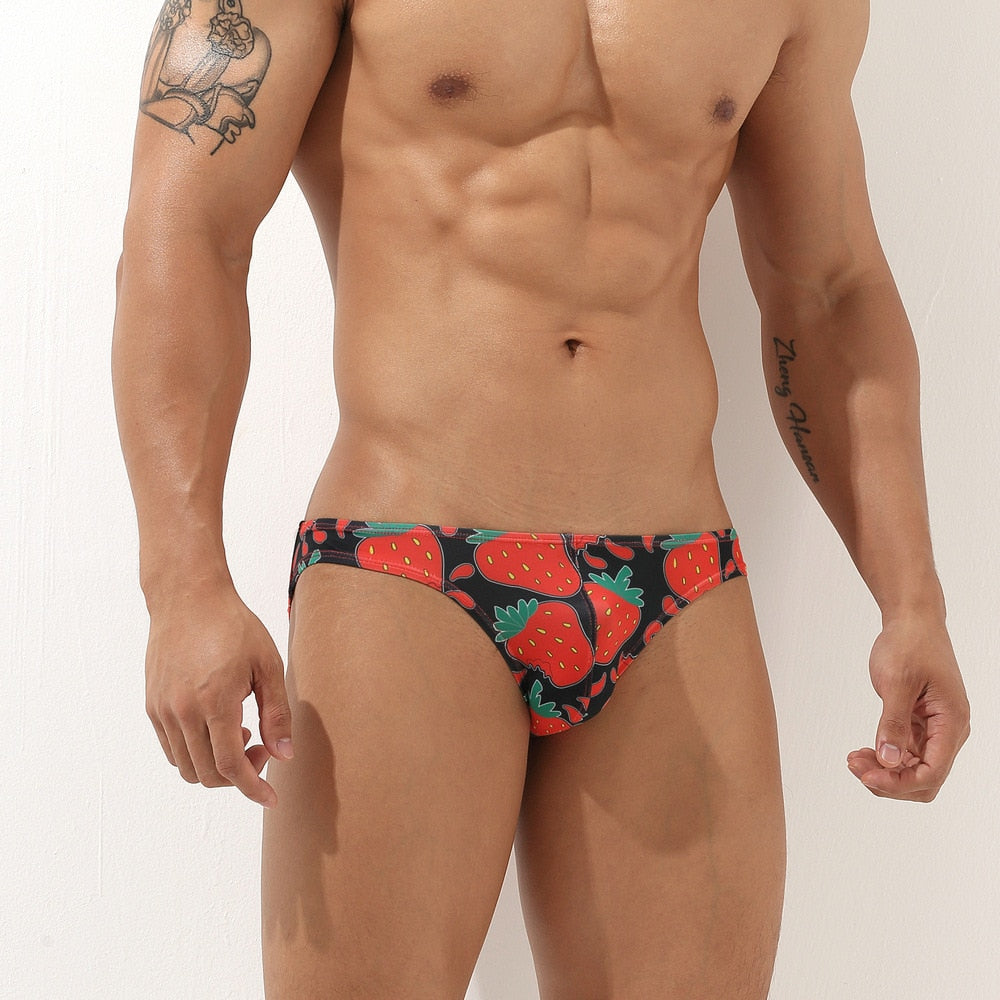 Graphic Print Low Rise Brief (Multiple Designs)