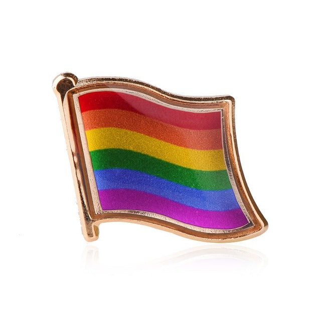 LGBT Pride Pins (Multiple Designs)