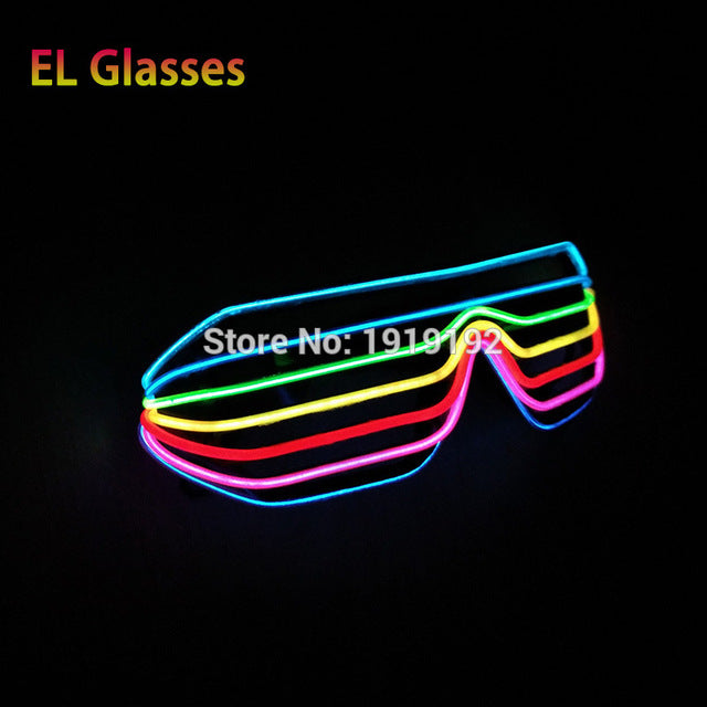 Flashing LED Party Glasses
