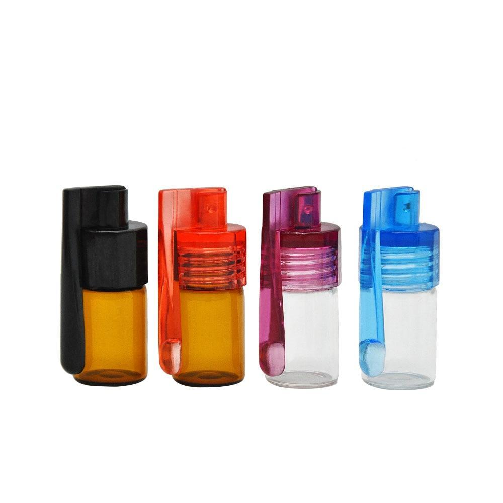 Acrylic Cap & Spoon Portion Control with Glass Vial (6 pcs)