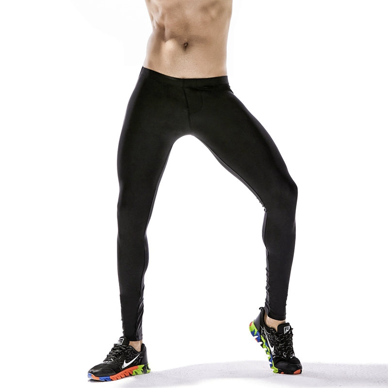 Men's Racer Striped Compression Tights