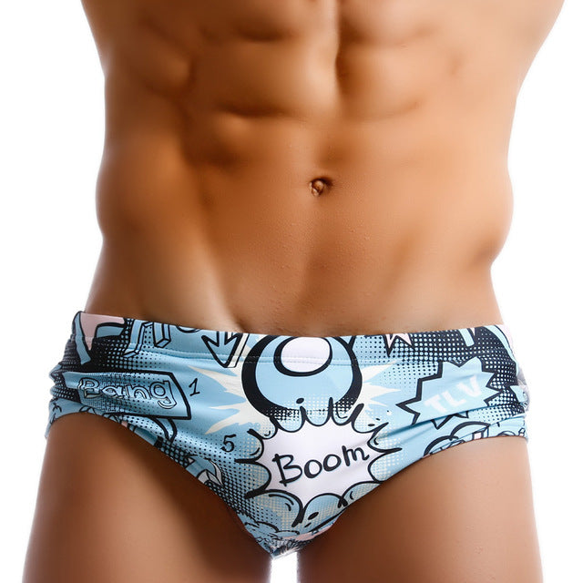 "Men's ""Boom"" Swimsuit"