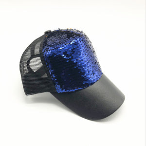 Sequined Party Cap (Multiple Colors)