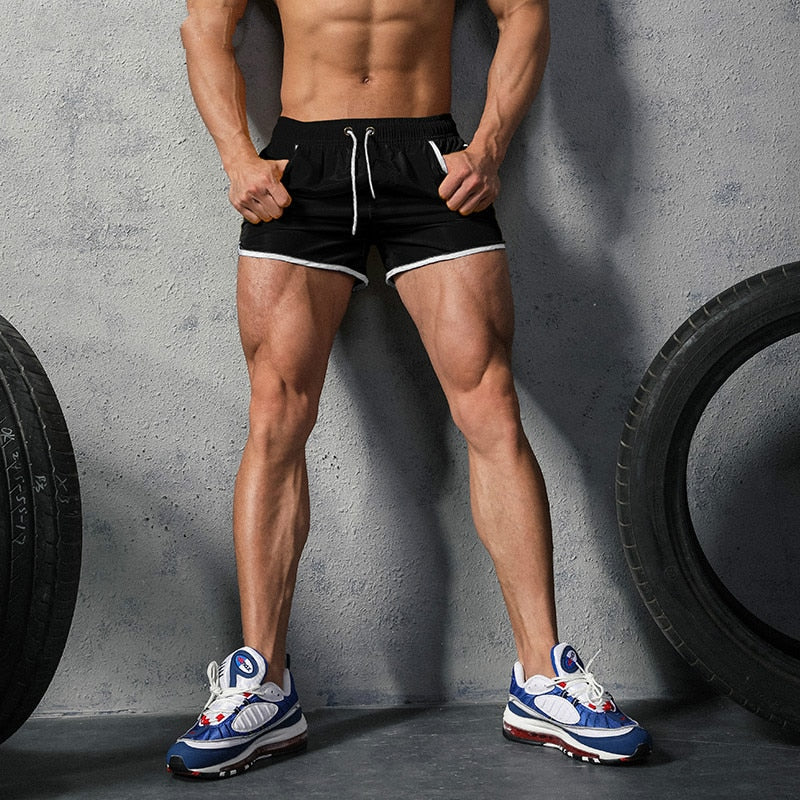 Men's Drawstring Gym Shorts (Multiple Colors)