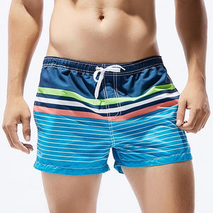 Striped Beach Shorts