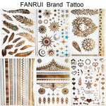 Temporary Waterproof Metallic Tattoos (Multiple Designs)