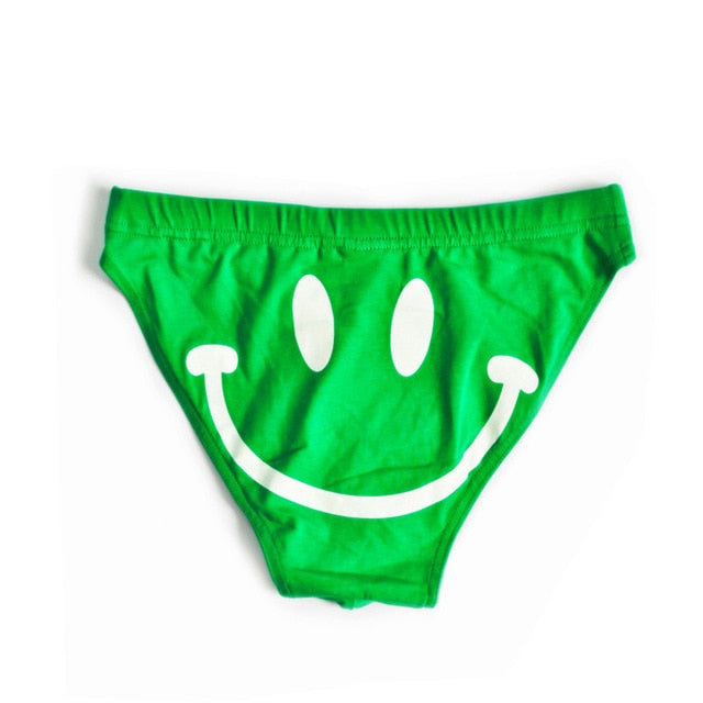 Men's Smiley Face Underwear (Multiple Colors)