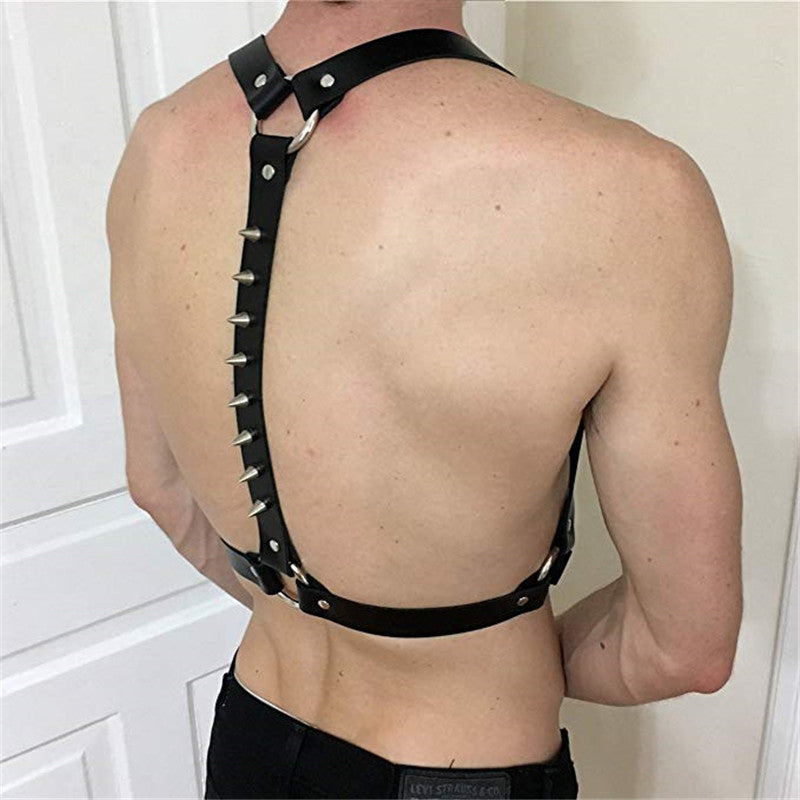 Spiked Spine Harness