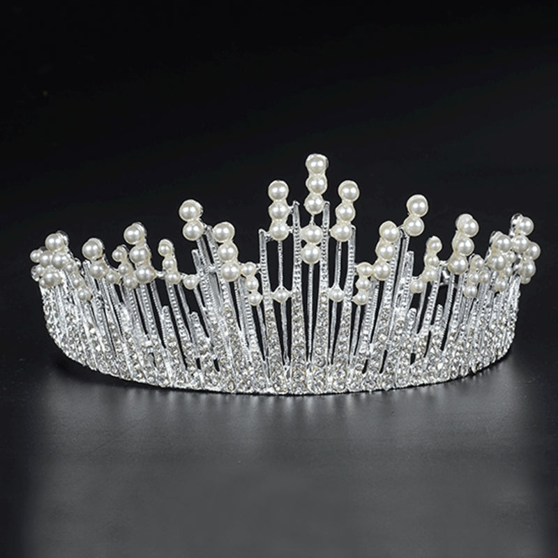 Vintage Princess Wedding Crown (Gold/Silver)
