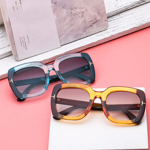 Vintage Square Sunglasses (Multiple Colors)