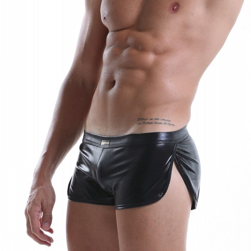 Patent Leather Wetlook Shinny Trunks (Multiple Colors)