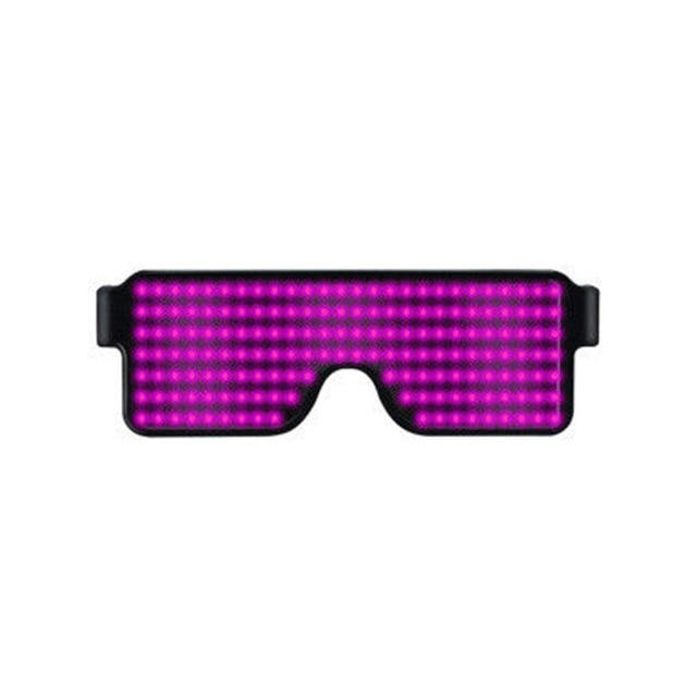 8 Mode Quick Flash LED Party Glasses