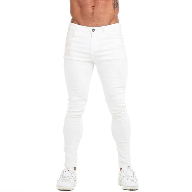 White Denim Skinny Jeans