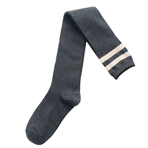 Thigh-High Fashion Socks (Multiple Colors)