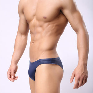 Cheeky Faux Leather Bikini Brief (Multiple Colors)