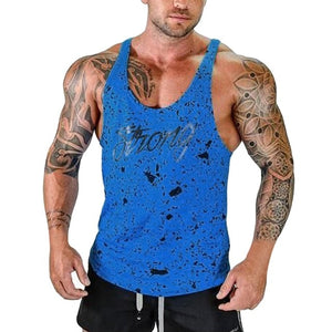 Print Fitness Tank Top (Multiple Colors)