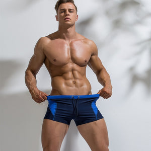 Color Block Swim Trunk (Multiple Colors)