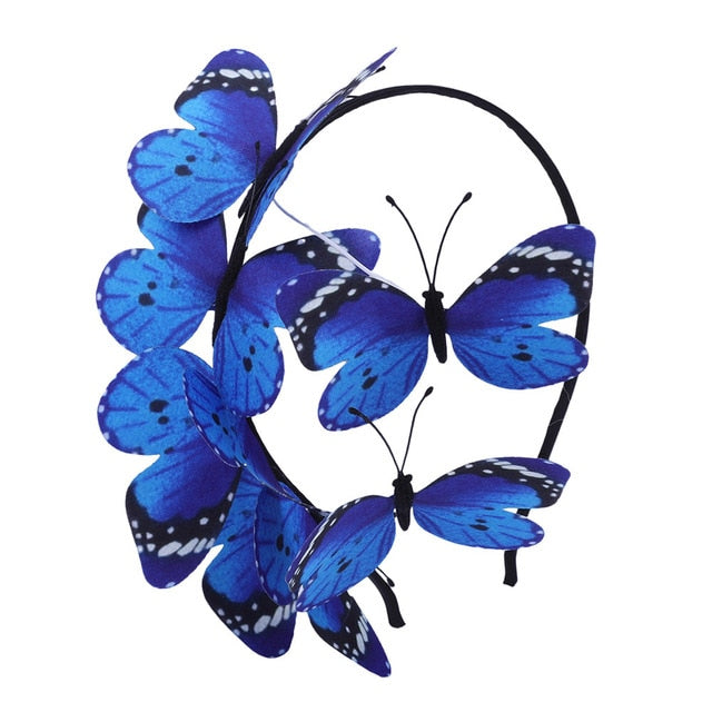 Butterfly Headband (Multiple Colors)