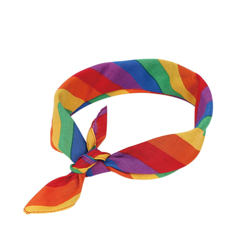 Circuit Rave Gear™ Rainbow Neckerchief/Headband