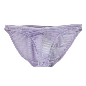 Transparent Striped Men's Briefs (Multiple Colors)