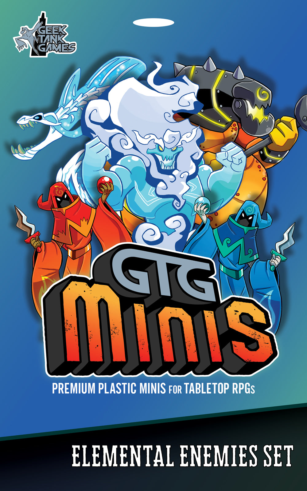 GTG Minis Elemental Enemies Set (Preorder)
