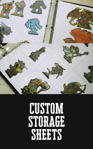 Custom Storage Sheets (Pre-Order)
