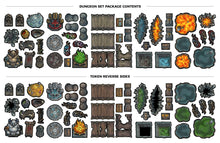 Tabletop Tokens Dungeon Set