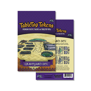 Tabletop Tokens Graveyard Set (Pre-Order)